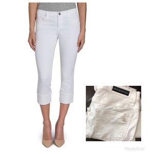 Rock & Republic White Capri Jeans